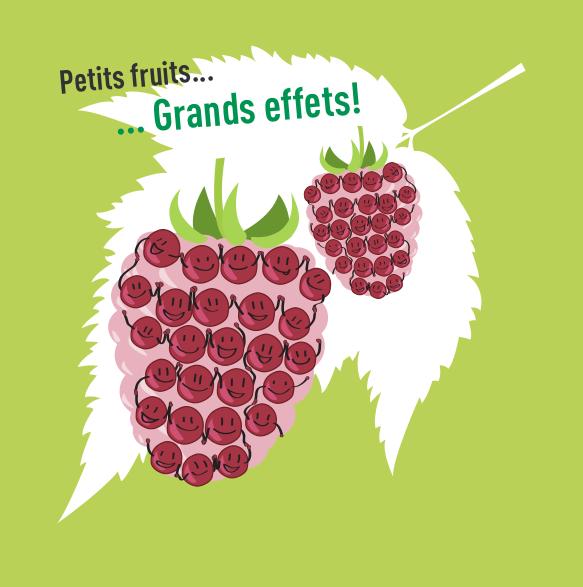 Action «Petits fruits, grands effets»